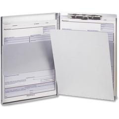 "OIC Aluminum Side Loading Form Holders - Storage for 30 x Document - Side Opening - 5 21/32"" x 9 1/2"" - Aluminum - 1 Each"