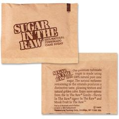 Sugar In The Raw Turbinado Cane Sugar - Natural Sweetener - 400/Carton
