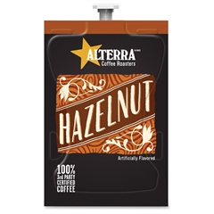 Mars Drinks Alterra Roasters Hazelnut Coffee - Compatible with Flavia - Regular - Hazelnut - Medium - 100 / Carton