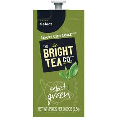Mars Drinks Bright Tea Co Select Green Tea - Compatible with FlaviaGreen Tea - 100 / Carton
