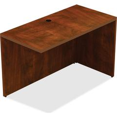 "Lorell Return - Top, 48"" x 24"" x 30"" - Reeded Edge - Finish: Cherry Laminate Top"