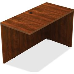 "Lorell Chateau Return - Top, 42"" x 24"" x 30"" - Reeded Edge - Finish: Cherry Laminate"
