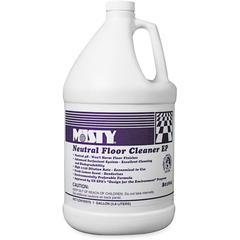 MISTY Optimax Lemon Scent Neutral Floor Cleaner - Concentrate - Lemon Scent - 4 / Carton - Green