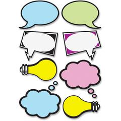 Ashley Speech Bubbles Dry Erase Magnets - 8 Pieces