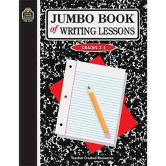 Teacher Created Resources Jumbo Book of Writing Lessons Education Electronic Book - 304 Pages