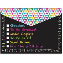 Checklist Snap Cover Poly Folders - Poly - Multi-colored - 6 / Pack