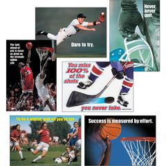 Trend Sports Motivating Posters Combo Pack - Multicolor