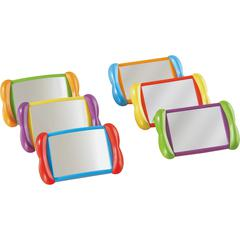 Learning Resources All About Me 2-in-1 Mirrors - Theme/Subject: Learning, Fun - Skill Learning: Visual, Social Skills, Language, Self Awareness, Emotion