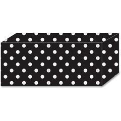 Ashley B/W Polka Dot Magnetic Blocks - Heavy Duty - 5 / Pack - Multicolor