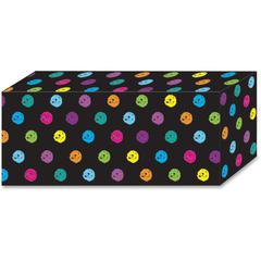 Ashley Chalk Dots Design Magnetic Blocks - Heavy Duty - 5 / Pack - Multicolor