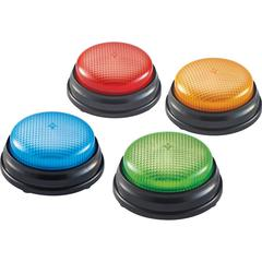 Learning Resources Lights & Sounds Buzzers Set - Theme/Subject: Learning - Skill Learning: Sound, Game - 3+