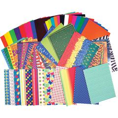 Roylco Preschool Paper Pack - 176 / Pack - Assorted