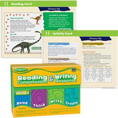 Teacher Created Resources Reading Comprehension & Writing Response Grade 3-4 - Theme/Subject: Learning - Skill Learning: Color Identification, Reading, Comprehension, Writing, Creativity, Thinking