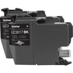 Brother LC30172PK Original Ink Cartridge - Black - Inkjet - High Yield - 550 Pages Black (Per Cartridge) - 2 Pack