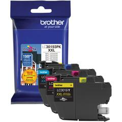 Brother LC30193PK Original Ink Cartridge - Cyan, Magenta, Yellow - Inkjet - Super High Yield - 1500 Pages Cyan, 1500 Pages Magenta, 1500 Pages Yellow - 3 Pack