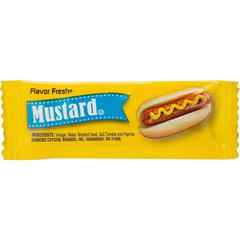 Office Snax Flavor Fresh Mustard Sgl-serve Packets - 0.19 oz - 200 / Carton