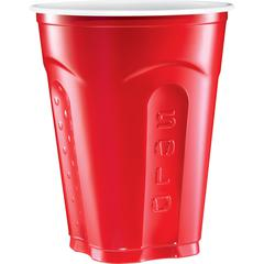 Solo Squared Plastic s - 18 fl oz - 50 / Pack - Multi - Plastic - Party, Cold Drink, Beverage, Juice, Soda
