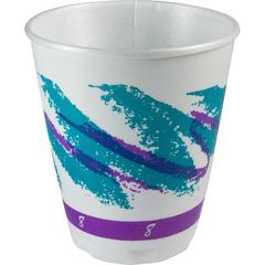 Solo Cozy Touch Hot/Cold Insulated Cups - 8 fl oz - 1000 / Carton - White - Hot Drink, Cold Drink