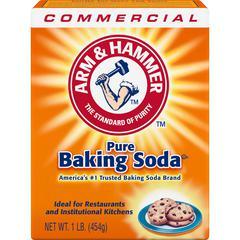 Arm & Hammer Pure Baking Soda - 16 oz (1 lb) - 24 / Carton - White