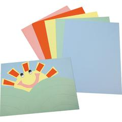 """Pacon Assorted Tagboard - Poster, Painting, Art - 12"""" x 9"""" - 100 / Pack - Assorted"""