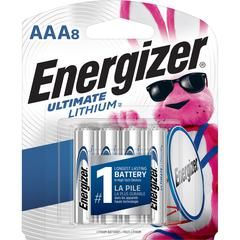Energizer Ultimate Lithium AAA Batteries - AAA - Lithium (Li) - 8 / Pack