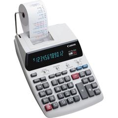 Canon P170-DH-3 Printing Calculators - Calendar, Clock, Item Count, Sign Change, Compact - 12 Digits - White - 1 Each