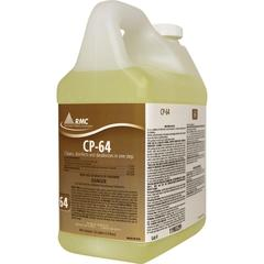 RMC CP-64 Cleaner - Concentrate Liquid - 0.50 gal (64 fl oz) - Fresh Lemon Scent - 4 / Carton - Yellow