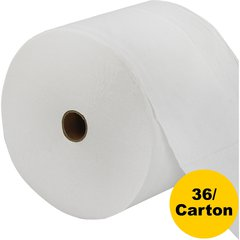"LoCor Bath Tissue - 2 Ply - 3.85"" x 4.05"" - White - Virgin Fiber - Embossed - For Janitorial - 36 Rolls Per Carton - 36 / Carton"