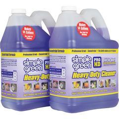 Simple Green Pro HD Heavy-Duty Cleaner & Degreaser - Liquid - 16 gal - 2 / Carton - Purple