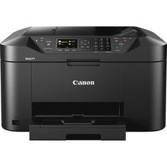 "Canon MAXIFY MB2120 Inkjet Multifunction Printer - Color - Plain Paper Print - Desktop - Copier/Fax/Printer/Scanner - 600 x 1200 dpi Print - Automatic Duplex Print - 1 x Cassette 250 Sheet - 2.5"" LCD"