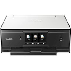"Canon PIXMA TS9020 Inkjet Multifunction Printer - Color - Photo Print - Desktop - Copier/Printer/Scanner - 21 Second Photo - 1200 x 2400 dpi Print - 1 x Input Tray 100 Sheet - 5"" LCD - 2400 dpi Optica"