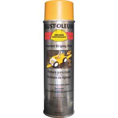 Rust-Oleum High Performance Striping Paint - 18 fl oz - 1 Each - Yellow
