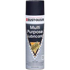 Rust-Oleum Multi Purpose Lubricant - Ready-To-Use Spray - 0.13 gal (16 fl oz) - 1 Each - Clear, Black