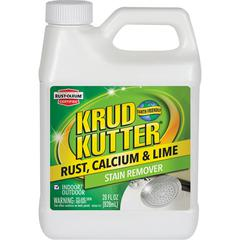 Krud Kutter Stain Remover - Liquid - 0.22 gal (28 fl oz) - 1 Each - White, Clear