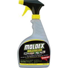 Moldex Mold Killer - Liquid - 0.25 gal (32 fl oz) - Fresh Clean Scent - 1 Each - White