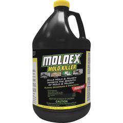 Moldex Mold Killer - Liquid - 1 gal (128 fl oz) - Fresh Clean Scent - 1 Each - White
