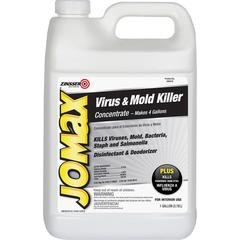 JOMAX Virus/Mold Killer Concentrate - Concentrate Liquid - 1 gal (128 fl oz) - 1 Each - White