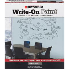 Rust-Oleum Write-On Paint - 16 oz - 1 Each - Clear
