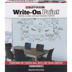 Rust-Oleum Write-On Paint - 1.50 lb - 1 Each - Clear