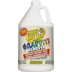Krud Kutter Graffiti Remover - Liquid - 1 gal (128 fl oz) - Bottle - 1 Each - Clear