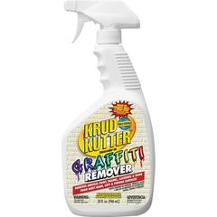 Krud Kutter Graffiti Remover - Spray - 0.25 gal (32 fl oz) - 1 Each - Clear