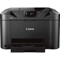 "Canon MAXIFY MB5120 Inkjet Multifunction Printer - Color - Plain Paper Print - Desktop - Copier/Fax/Printer/Scanner - 600 x 1200 dpi Print - Automatic Duplex Print - 1 x Cassette 250 Sheet - 3.5"" LCD"