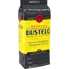 Folgers Supreme by Bustelo Espresso WB Coffee - Espresso, Cappuccino, Bustelo, Arabica - Dark - 32 oz - 1 Bag