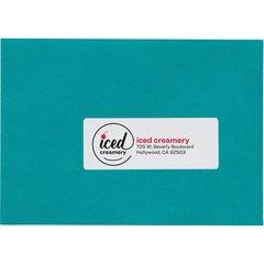 Avery Easy Peel High Gloss White Mailing Labels - Laser, Inkjet - White - 250 / Pack