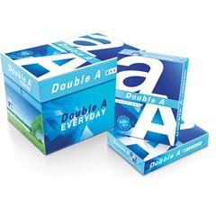 "Double A Copy & Multipurpose Paper - 8 1/2"" x 14"" - 0 Recycled Content - Smooth - 5000 / Carton - White"