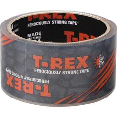 "T-REX Clear Repair Tape - 1.88"" Width x 27 ft Length - Long Lasting - 1 Each - Clear"