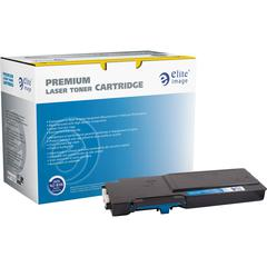 Elite Image Toner Cartridge - Alternative for Dell - Cyan - Laser - 4000 Pages - 1 Each