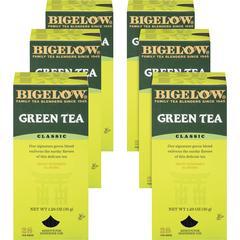 Bigelow Classic Green Tea - Green Tea - 8 oz Per Bag - 168 Teabag - 168 / Carton