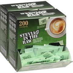 Stevia In The Raw Zero-calorie Sweetener - Packet - 0 lb (0 oz) - Stevia Flavor - Artificial Sweetener - 400/Carton