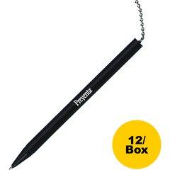 PM Preventa Deluxe Counter Pen Refill - Refillable - Black - Black Barrel - 12 / Box